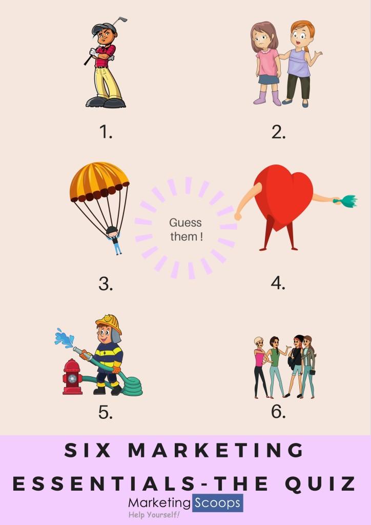 Six marketing essentials - the quiz